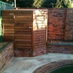 natural furnished wooden pool filter cover design aside reddish tall fence design aside pool with concrete patio idea