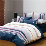 navy duvet covers for teens for comfy bedding on wooden floor