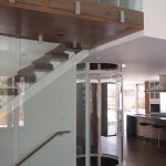 round glass residential elevator and coastal house plans with elevators