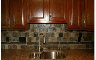 kitchen stove backsplash tile flooring pros and cons homesfeed 3202