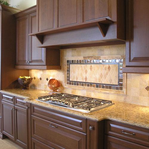 Kitchen Tile Countertops: Rustic Backsplash Ideas