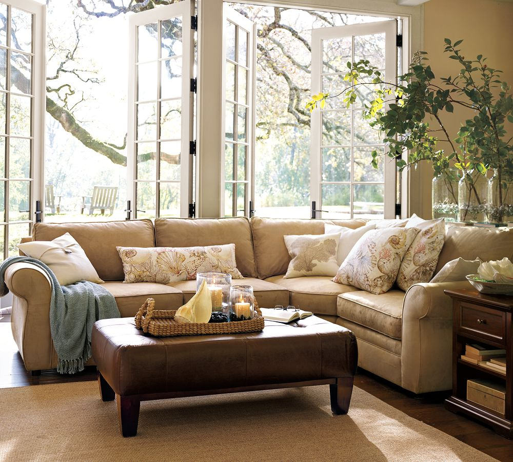 Pottery Barn Sofa Which Will Make Your Living Room ...