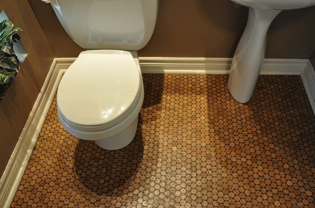 how to install cork flooring in bathroom cork floor in bathroom eco friendly and durable bathroom 26119 | simple bathroom ideas with cork flooring in bathroom pictures and cork floor in bathroom and cork floor in bathroom install