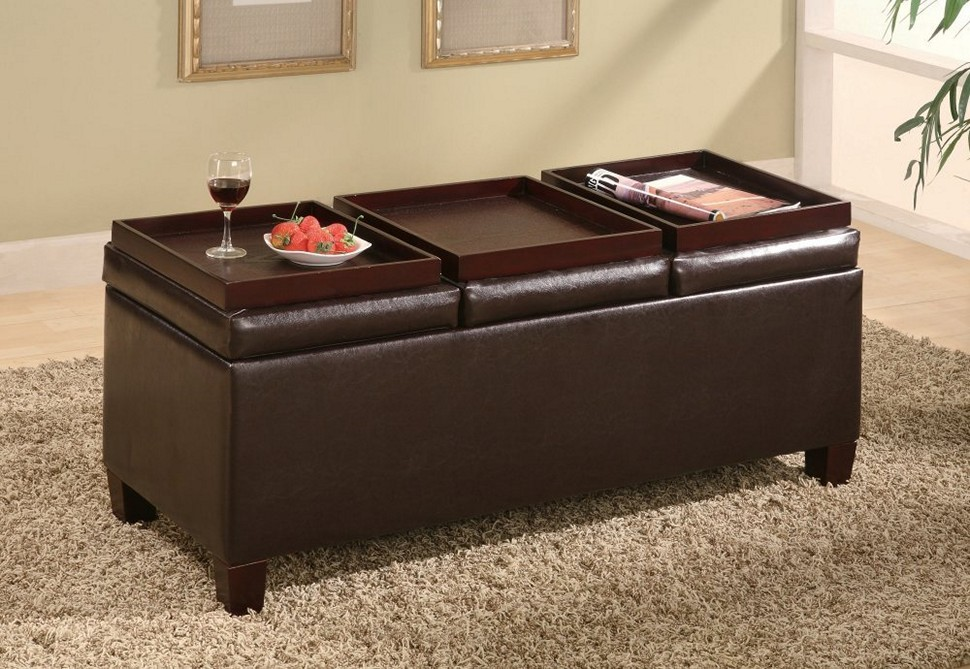Excellent Ottoman Coffee Table With Tray Get A Compact And Multi Ncnpc Chair Design For Home Ncnpcorg
