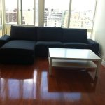 simple ikea assembly service nyc with black sofa and wooden coffee table plus wooden floor and glass windows