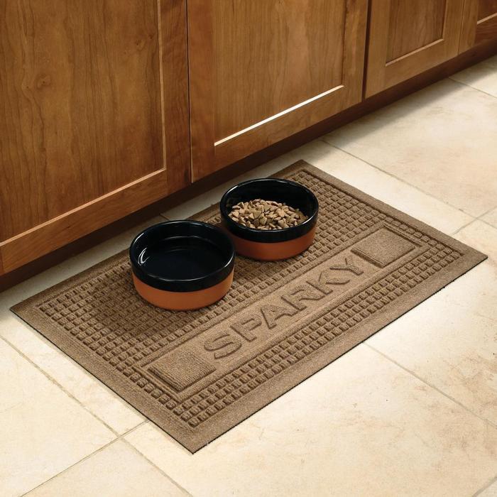 Large Dog Bowl Mat