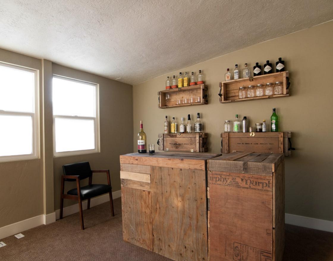 Ana White | Mini Wine bar - DIY Projects  |Diy Wine Bar Decor