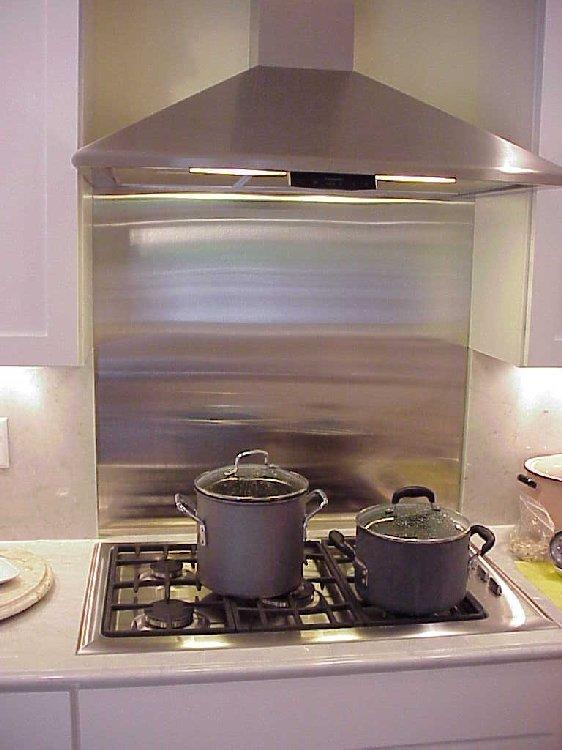 Ikea Stainless Steel Backsplash The Point Pluses Homesfeed