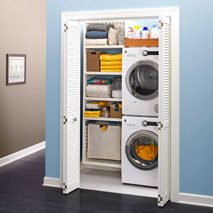 Small Stackable Washer Dryer Combo Invades Every Laundry