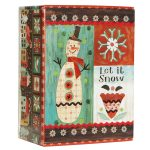 unique boxed christmas cards unique boxed holiday cards  with snowman theme