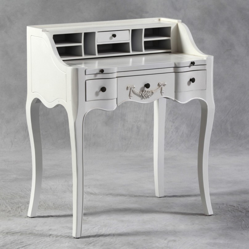 small white desk simple writing desks for small spaces homesfeed 28595
