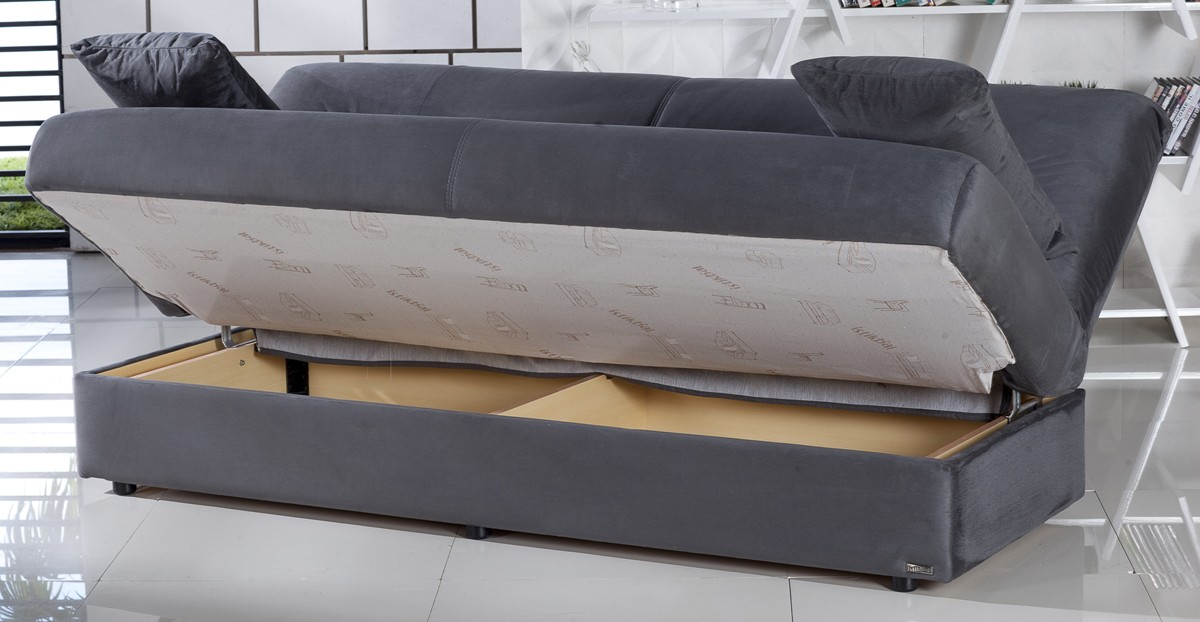 Flip Flop Sofa Bed With Storage Hereo