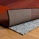 Best rug pad for hardwood floors rebond rug pads for beautiful simple two tones red