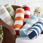 Cute bolster pillows for patio furniture