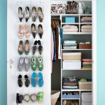 Effective and smart solution for small closet storage