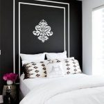 mural bedroom lamp pillows bedcover flower