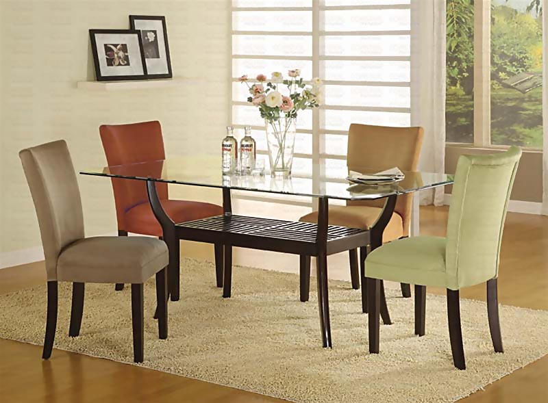 Casual Kitchen Dinette Sets Design Gl Top Dining Table
