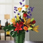 Heaven on Earth unusual flower arrangements colorful flower bonquet