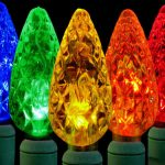 Phillip christmas tree light fixtures in multiple colors