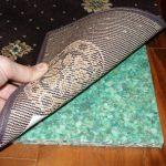 Rebond Rug pads Best rug pad for hardwood floors natural wooden floors bold brown rug