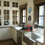 Rustic Elegance granite kitchen countertop and sink