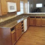 Seafoam Green granite countertop for kitchen natural wooden kitchen furniture natural wooden floor