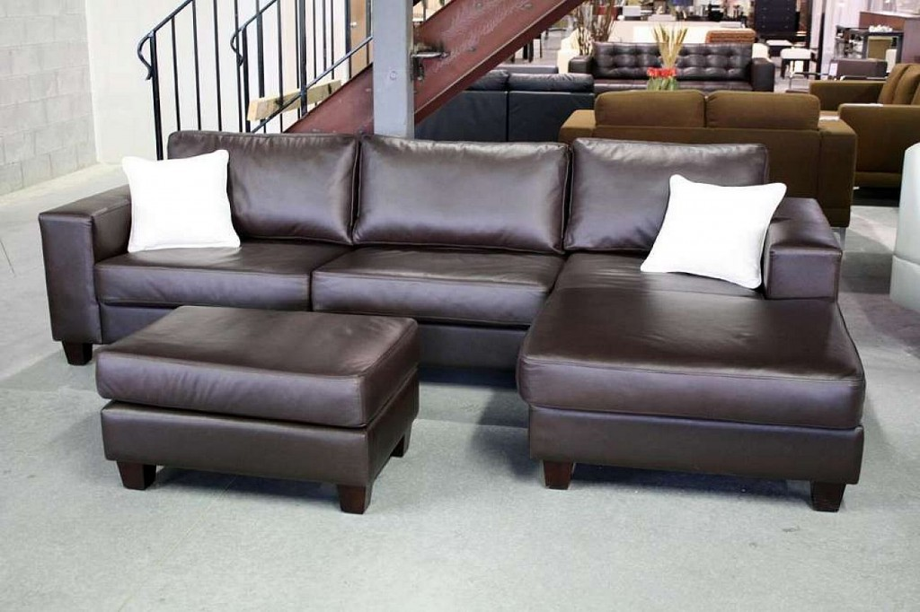 Sectional sofa deals homesfeed for Best pillows for leather couch