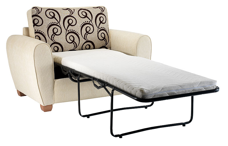 Single Chair Bed Sofa Black MenzilperdeNet
