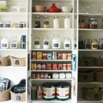 Three ideas of organizing pantry