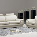 White chairs for living room with headrest feature grey wool area rug  elegant modern black plant boxes for interior use
