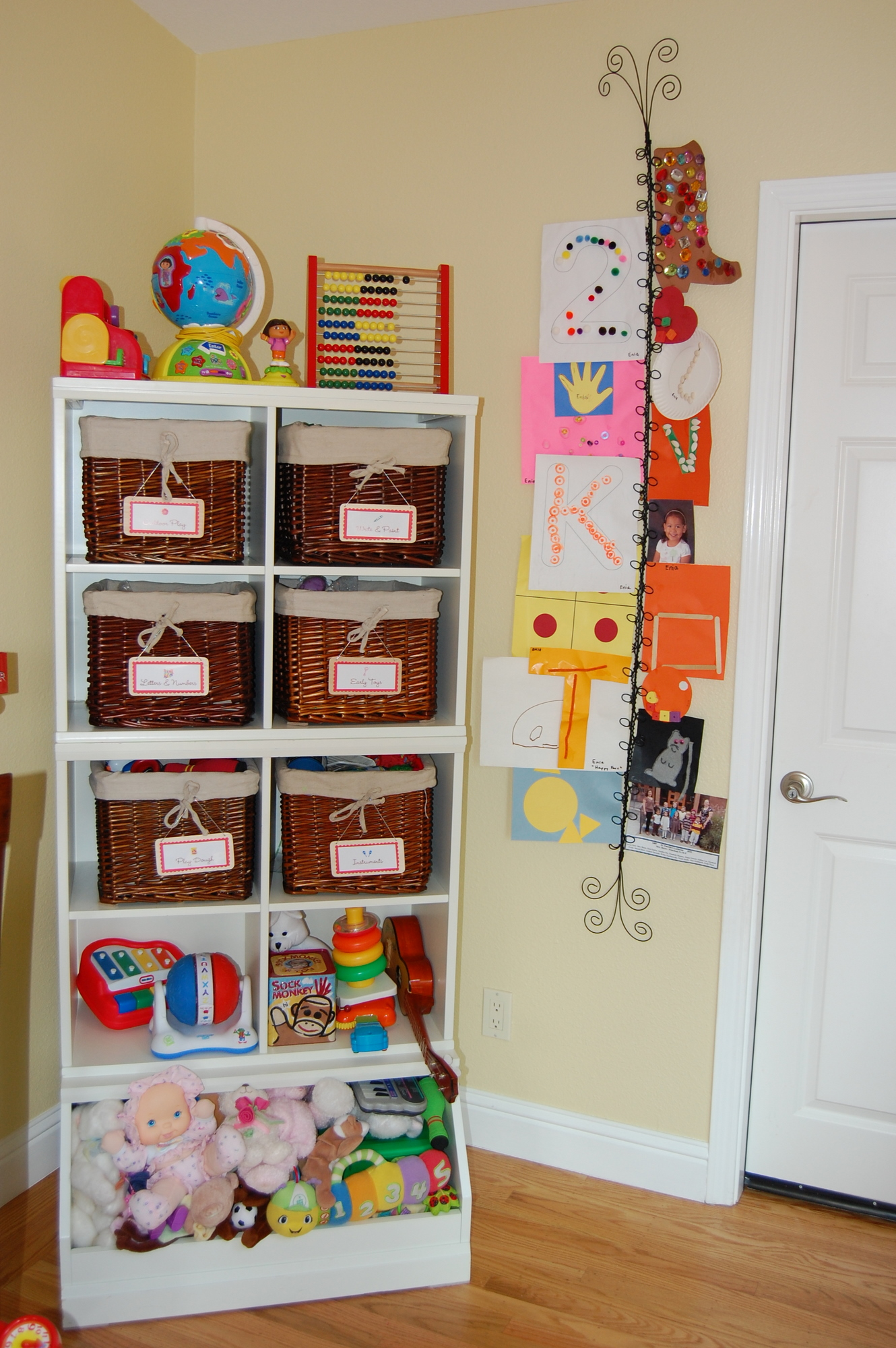 How To Display Kids Art Without Making It Bothersome