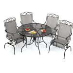amazing target patio chairs in wrough iron frame plus round coffee table for more comfortable patio