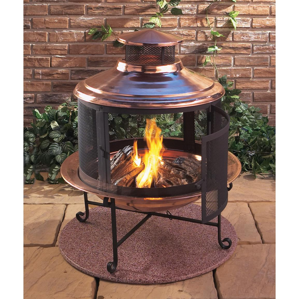 Lit Your Outdoor Space Nuance with Chiminea Fire Pit for ... on Outdoor Fireplace Pit id=48806