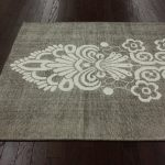 ballard design diamond sisal rug bold brown floor grey sisal rug