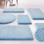 Bathroom Carpet Blue