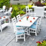 beautiful modern white pastel blue recycled milk jug furniture white pastel blue chairs and tables set beautiful patio furniture swimming pool deck furniture