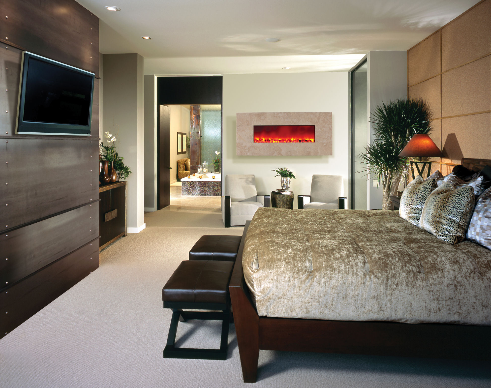 Modern Bedroom Television Ideas Homesfeed