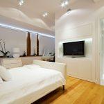 bed pillows tv lamps cabinet door