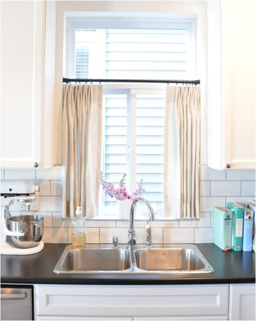 kitchen curtains over sink half window curtains to create sophistication in your home 573