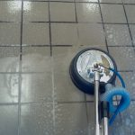 best way to clean tile grout cleaning process with mop machine