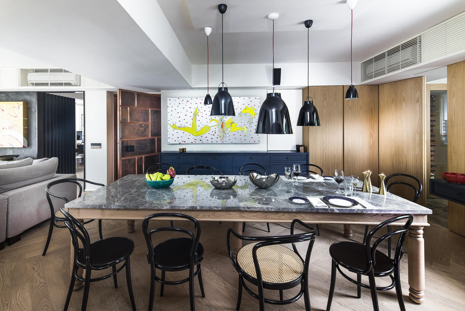 Designhometamsin L1001895 Jpg Black Bentwood Most Comfortable Dining Chair