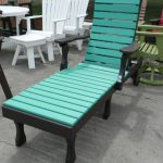 black blue green recycled milk jug furniture two tones color outdoor plastic lumber chaise lounge colorful plastic lumber chairs
