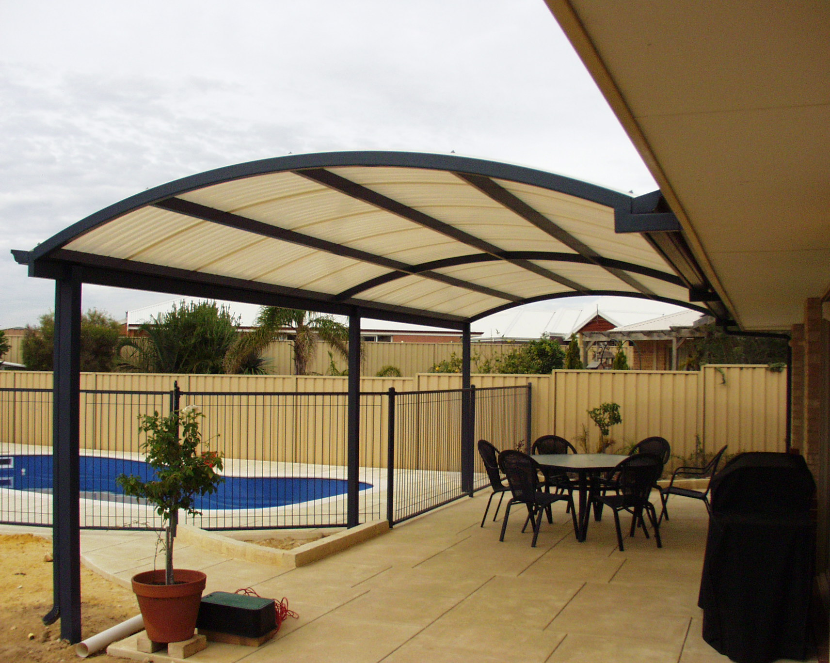 Backyard Patio Covers: From Usefulness To Style - HomesFeed on Patio Covers Ideas  id=18768