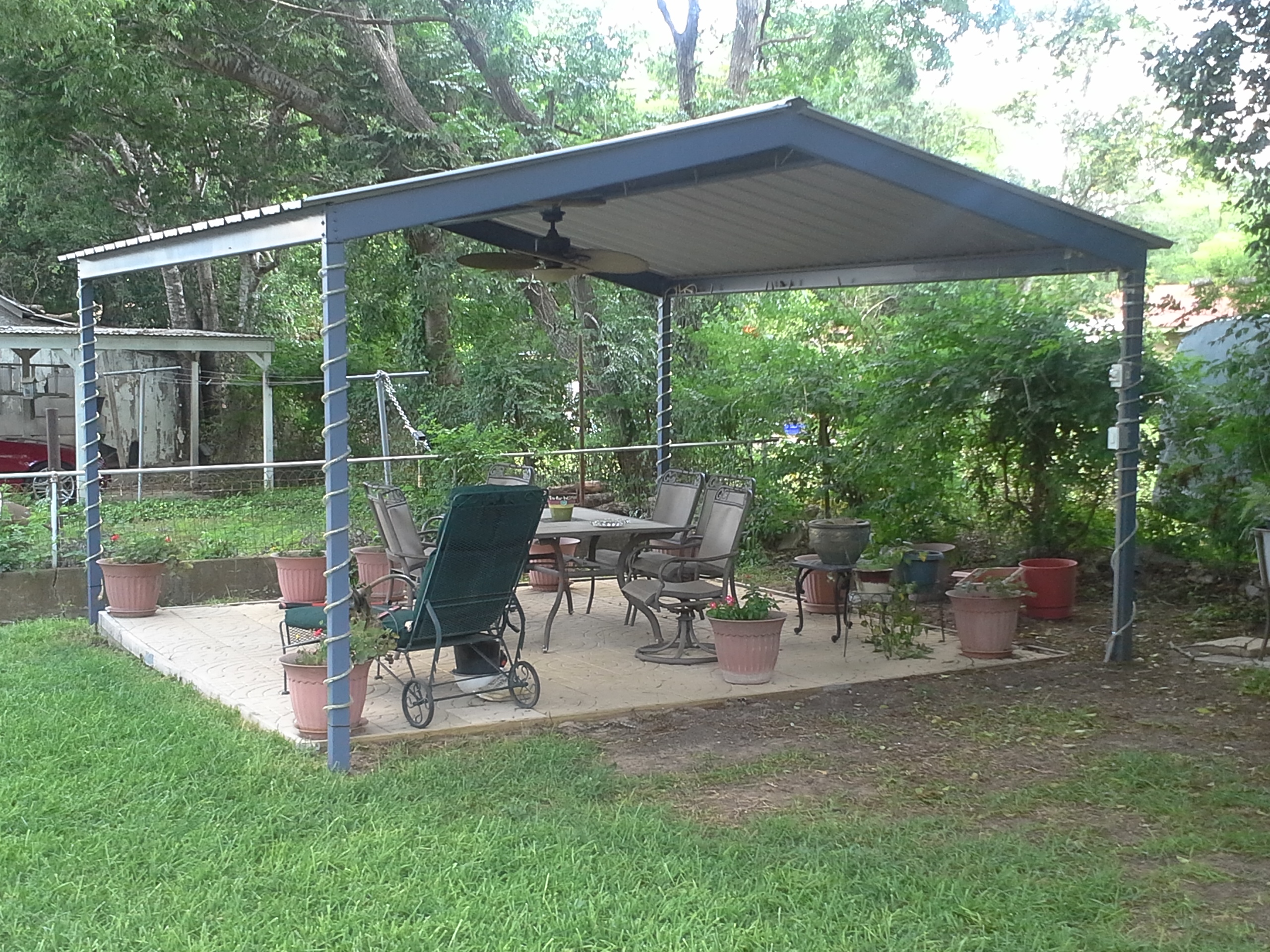 Backyard Patio Covers: From Usefulness To Style - HomesFeed on Backyard Patio Cover Ideas  id=62036