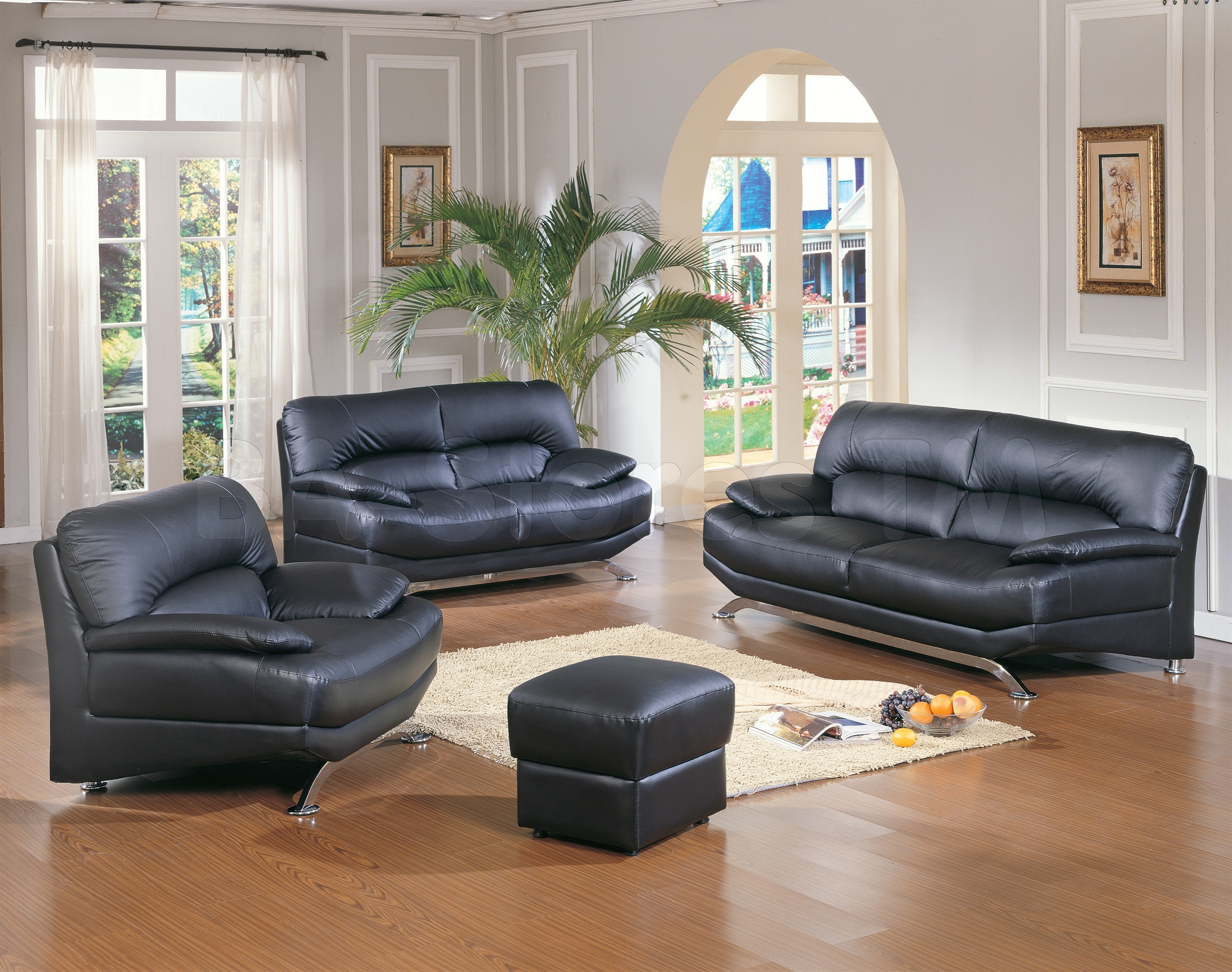 Rooms With Black Leather Sofa Sofa Brownsvilleclaimhelp