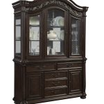 black wood hutch