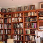 bookshelf books frames