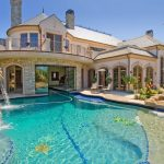 build my dream house in amazing design with beautiful pool and waterfall plus beautiful small garden