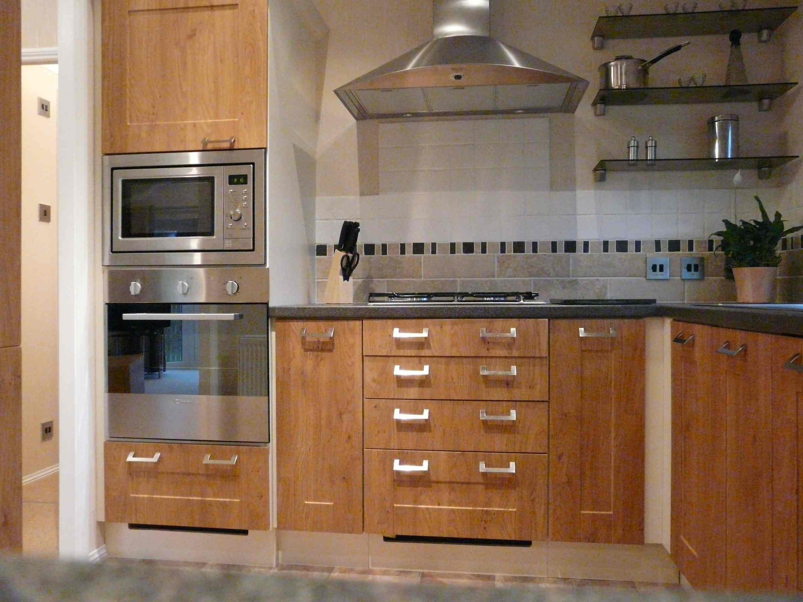 built in kitchen cabinet safer and more efficient cooking with built in toaster 12668