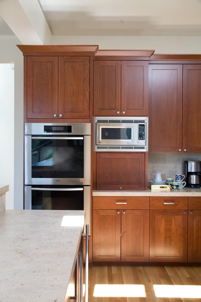 Where To Put Microwave On Kitchen Countertop